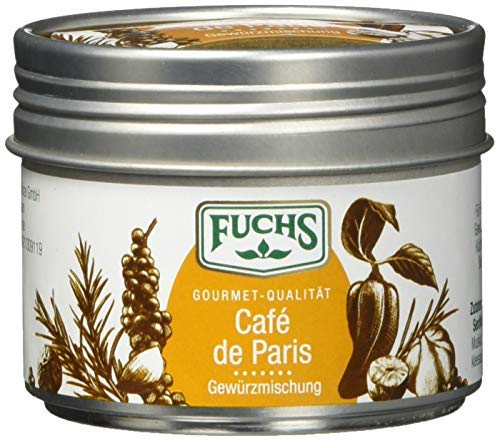 Fuchs Gewürze Café de Paris Gewürzmischung - holt den Geschmack Frankreichs auf den Teller in der...