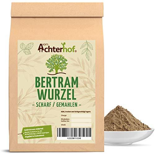 Bertramwurzel scharf gemahlen (100g) | Bertramwurzelpulver | Bertram Wurzel Pulver | 100% ECHTES...