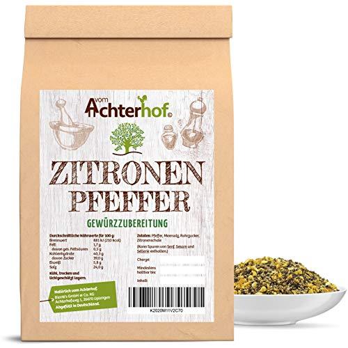 Zitronenpfeffer grob 100g für die Pfeffermühle geeignet Gewürzzubereitung Pfeffer-Körner...