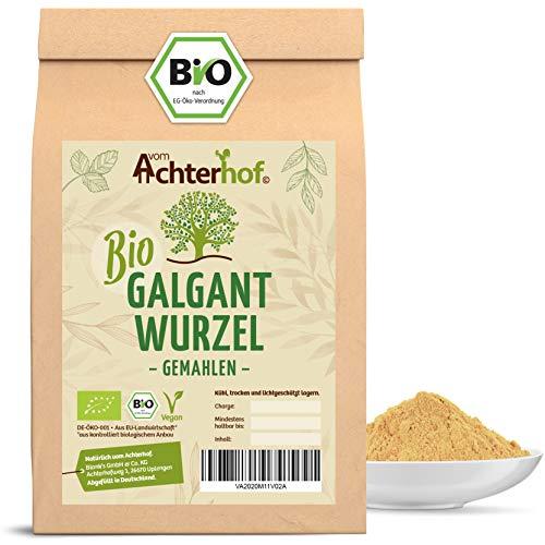 Galgant Pulver Bio (250g) Galgantwurzel gemahlen aus kbA vom-Achterhof