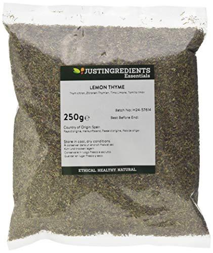 JustIngredients Zitronen-Thymian, Lemon Thyme (1 x 250 g)