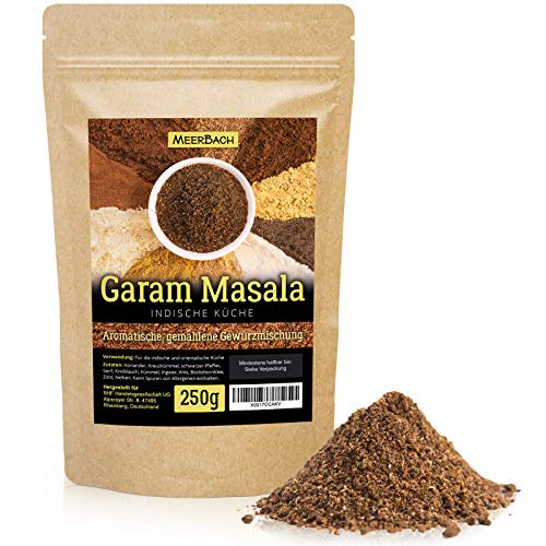 Garam Masala • indische Gewürzmischung • 250g gemahlenes Masala Gewürz • aromatisches...