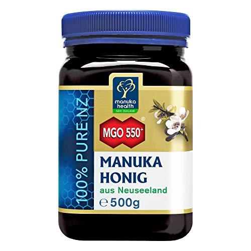 Manuka Health - Manuka Honig MGO 550+ (500 g) - 100% Pur aus Neuseeland mit zertifiziertem...