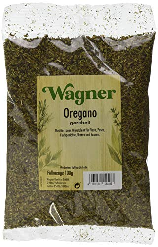 Wagner Gewürze Oregano 1 x 100 g getrockneter Oregano für italieniesche und griechische Gerichte
