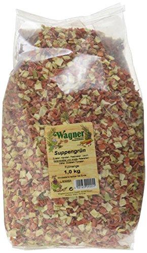 Wagner Gewürze Suppengrün Suppengemüse für Suppen, Brühe & Eintöpfe, getrocknetes Gemüse aus...