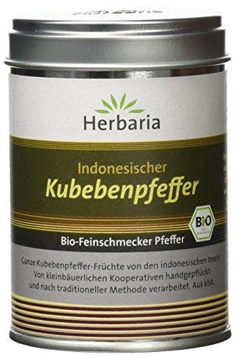 Herbaria Kubebenpfeffer, 1er Pack (1 x 60 g Dose) - Bio