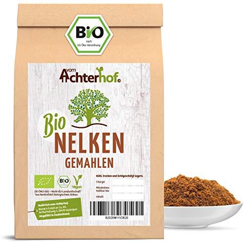 Nelken gemahlen BIO   100g   gemahlene Gewürznelken   Nelkenpulver vom Achterhof
