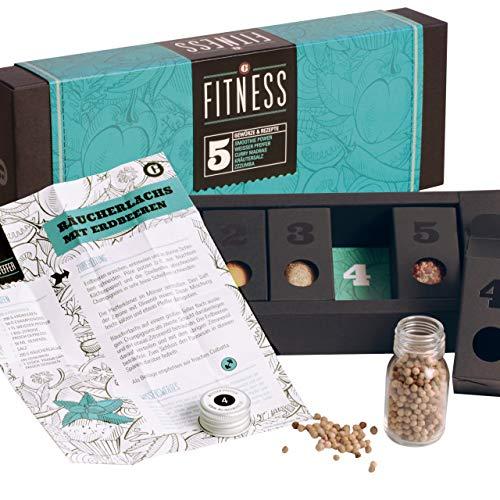 Fitness Food – MeinGenuss Gewürzset Fitness – Das perfekte Geschenkset für Geniesser –...