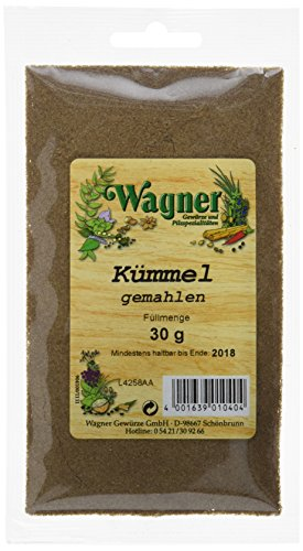 Wagner Gewürze Kümmel gemahlen (1 x 30 g)