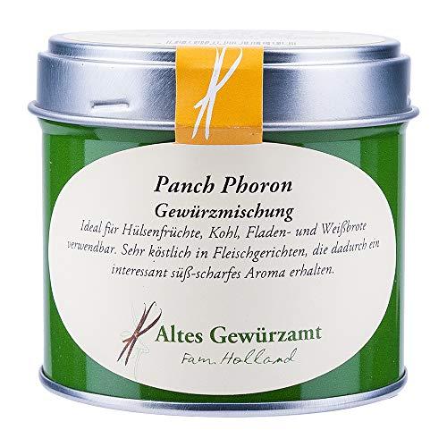 Panch Phoron, Indische Gewürzmischung für Gemüse/Fleisch/Fisch, Altes Gewürzamt Ingo Holland, 90...