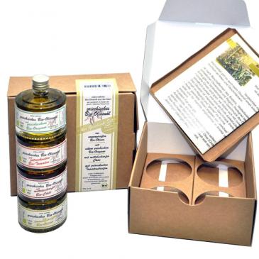 aromatisierte Bio-Olivenöle